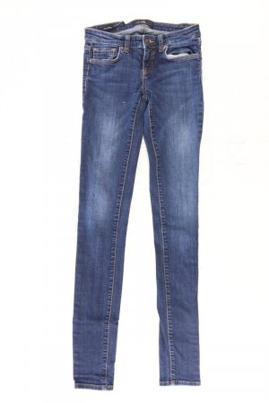 LTB Skinny Jeans blue-neon blue-dark blue-azure cotton