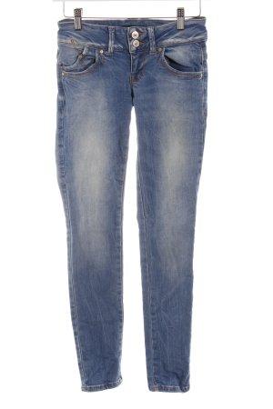 LTB Skinny Jeans kornblumenblau Jeans-Optik