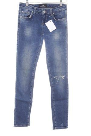 LTB Skinny Jeans stahlblau Casual-Look
