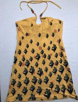 LTB  - Sommerkleid gelb Muster Größe M 38