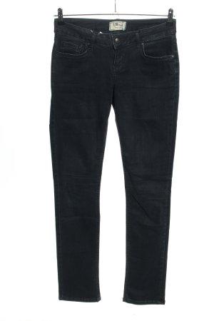 LTB Jeansy z prostymi nogawkami czarny W stylu casual
