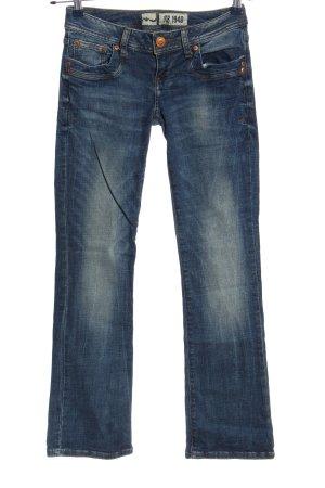 LTB Straight-Leg Jeans blau Casual-Look