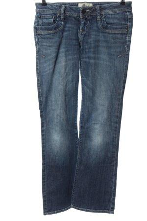 LTB Jeansy z prostymi nogawkami niebieski W stylu casual
