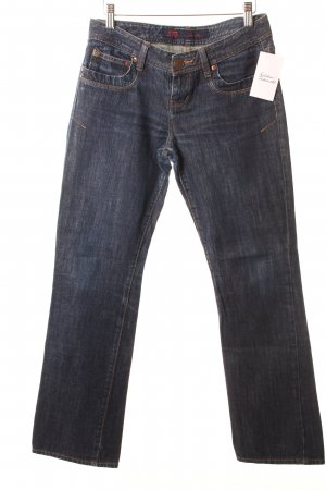 LTB Jeansy z prostymi nogawkami ciemnoniebieski W stylu casual