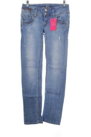 LTB Straight-Leg Jeans kornblumenblau Casual-Look