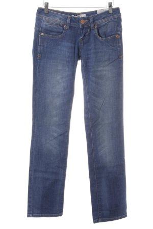 LTB Jeansy z prostymi nogawkami chabrowy W stylu casual