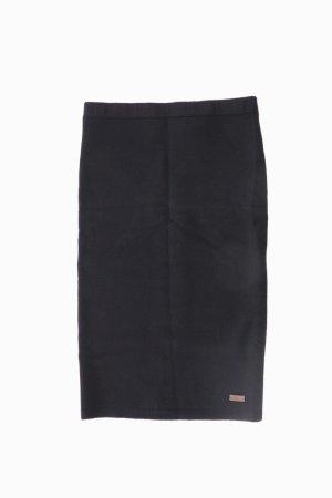 LTB Spódnica ze stretchu czarny Wiskoza