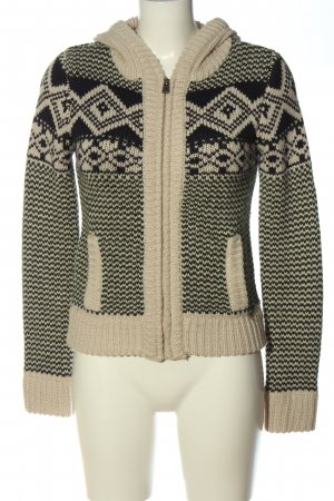 LTB Cardigan natural white-black casual look