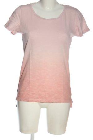 LTB T-shirt rosa Colore sfumato stile casual