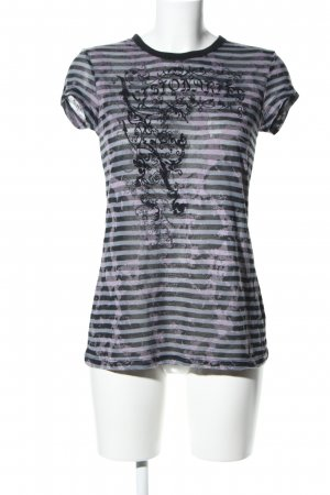 LTB T-Shirt Allover-Druck Casual-Look