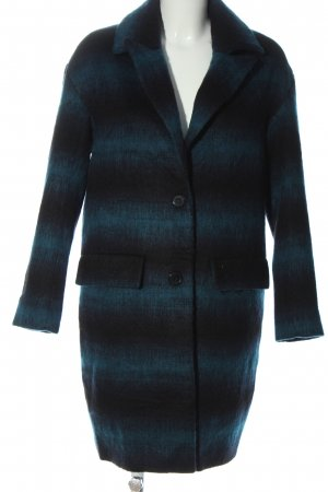 LTB Between-Seasons-Coat blue striped pattern casual look