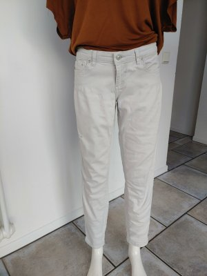 LTB Drainpipe Trousers natural white