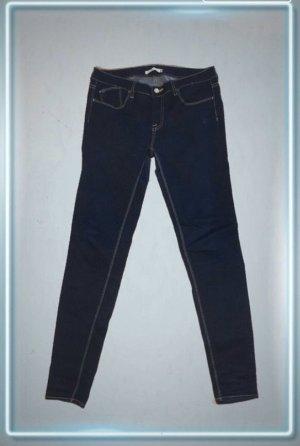 Le Temps des Cerises Jeans slim fit blu scuro-blu Cotone