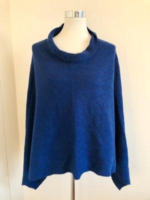 Cape dark blue-petrol cashmere