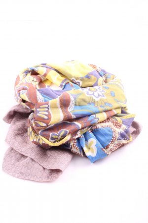 Lua Shoulder Scarf pink-primrose mixed pattern business style