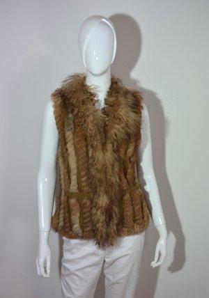 Lubert de Cologne Fur vest multicolored pelt