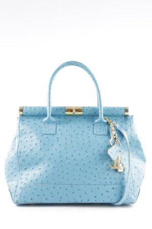Luca Lorenzo Borsa telaio blu stile casual