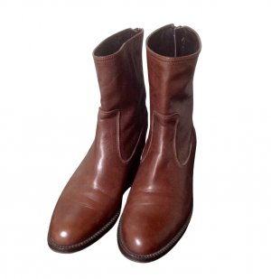 Luca Valentini Short Boots brown casual look
