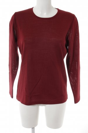Lucia Strickpullover karminrot Casual-Look