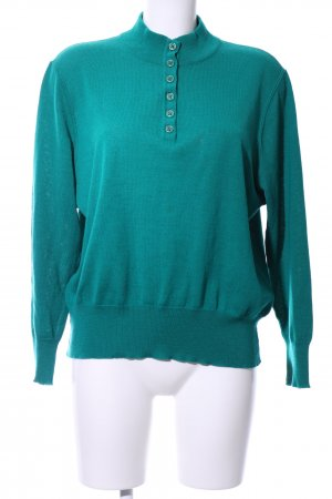 Lucia Strickpullover türkis Casual-Look