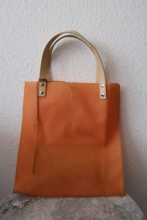 Shopping Trolley orange mixture fibre