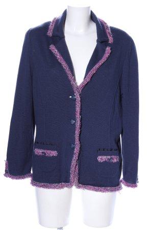 Lucia Übergangsjacke blau-pink Casual-Look