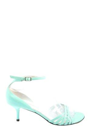 Luciano Barachini High Heel Sandaletten türkis Elegant