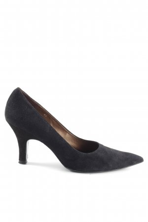Luciano Barachini Spitz-Pumps schwarz Business-Look