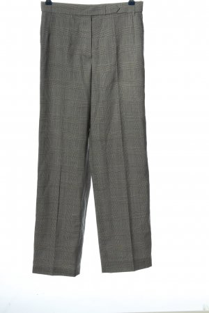 Luciano Barbera Woolen Trousers black-white check pattern business style