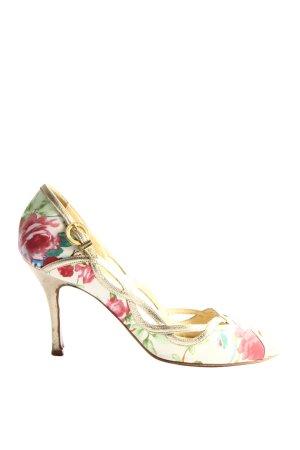 Luciano padovan High Heel Sandaletten Blumenmuster Elegant