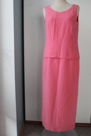 Lucinda Gray Maxikleid Gr. UK 10 EUR 38 S M rose rosa Kleid lang