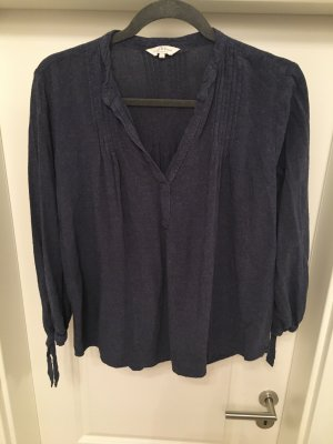 Lucky Brand Bluse Hemd Tunika Dunkelblau Gr M