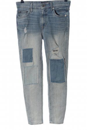 Lucky Brand Hoge taille jeans blauw casual uitstraling