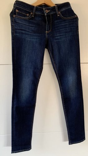 Lucky Brand Lolita Skinny Jeans Dunkelblau Casual Look