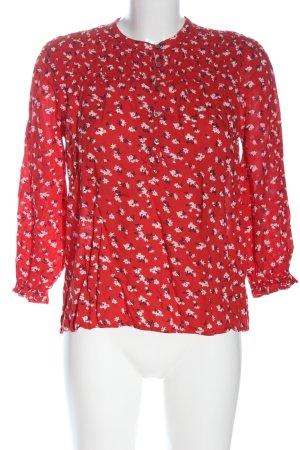 Lucky Brand Camicetta da notte rosso-bianco stampa integrale stile casual