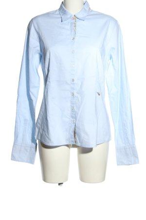 Lucky de Luca Langarmhemd blau Business-Look