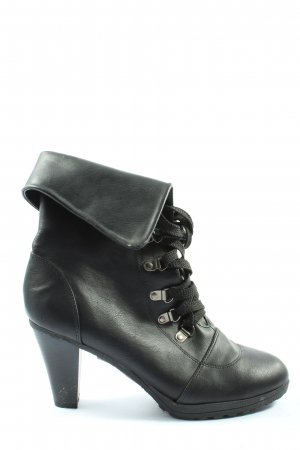 Lucky Shoes Botines negro look casual