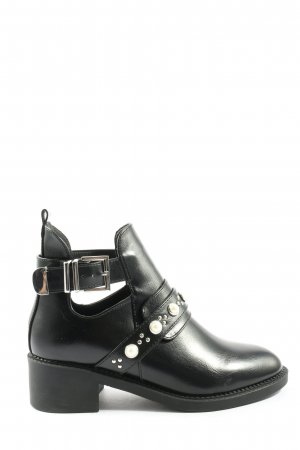 Lucky Shoes Cut Out Booties black casual look