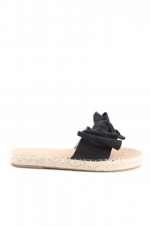 Lucky Shoes Espadrillas crema-nero stile casual