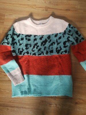 Luckymeonline Maglione di lana multicolore