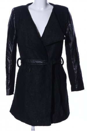 Lucy Paris Manteau court noir style d'affaires