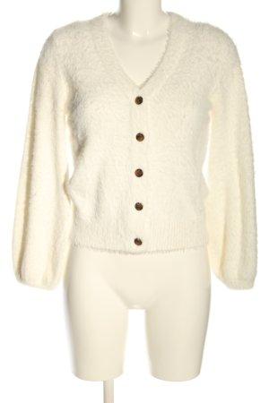 Lucy Paris Twin set in maglia crema stile casual