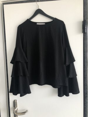 Lucy Wang Bluse in schwarz