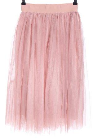 Lucy wang Falda de tul rosa estilo fiesta