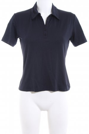 Ludwig Beck Munich Polo-Shirt blau Casual-Look