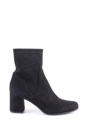 Prego Slip-on Booties black casual look