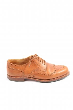 Ludwig Reiter Oxfords light orange business style