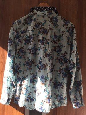 Lüftige Bluse für Frühling Sommer in Gr. 40