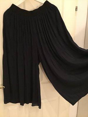 Zara Culotte Skirt dark blue
