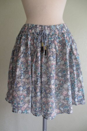 Fuga Circle Skirt multicolored cotton